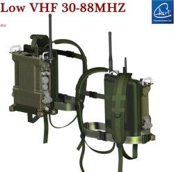 Manpack mobiele radio in lage VHF-band voor miliatry/Aamy/Defense Afdeling
