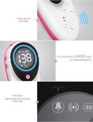 Sonde de Doppler foetal par ultrasons sans fil avec grand écran couleur