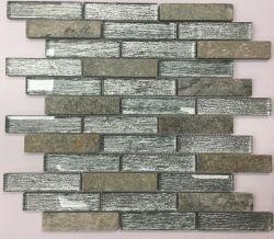 실내 벽 장식을 위한 아름다운 스타일 유리 모자이크 타일