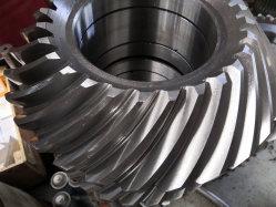 Peças de transmissão personalizadas de engrenagens cônicas em espiral