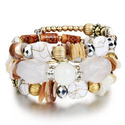 2020人の新しいアクリル樹脂の女性宝石類のブレスレットの腕輪のビードのラインストーンの宝石