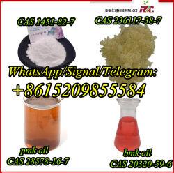 RC Pharmaceutical Chemical CAS 1451-82-7/236117-38-7/79099-07-3/49851-31-2/28578-16-7/20320-59-6/1009-14-9/137-58-6/51-05-8 tegen fabrieksprijs