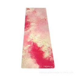 PU ecológico de corcho NBR EVA PVC Ejercicio Gimnasio de materiales de impresión de logotipo personalizado alfombrillas Sport Non-Slip Suede TPE goma natural estera del yoga