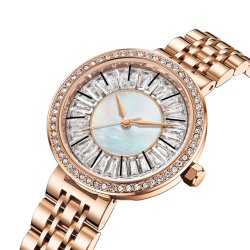 Nuevas joyas de metal de la Moda Mujer reloj de cuarzo (NI-187)