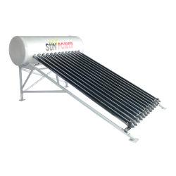 aquecedor solar de água pressurizada separado da família
