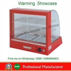 Comptoir commercial Food Pizza pâtisserie vitrine plus chaudes avec la CE