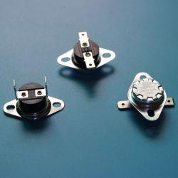 Термостат регулирования биметаллической пластины Suface 110c автоматический сброс 2 контакт 1 N/C 110c