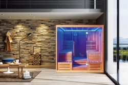 Monalisa M-6050 Melhor 2 Pessoa Lounge Kit Sauna