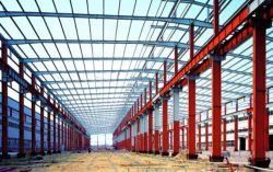 Ampla estrutura de aço prefabricadas Span Construção Industrial galpão de armazenagem do Prédio de metal em projetos do cliente