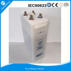 Níquel cádmio Ni-CD UPS Recarregável Industrial Indústria alcalina de energia solar para Bateria/Carregador de Bateria