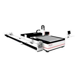 L'IPG Raycus 1000W 1500W/de coupe de la faucheuse laser à fibre matériel pour la feuille de métal et le tuyau/tube