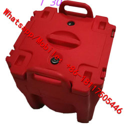 Plastik scherzt Mittagessen-Kasten/Mittagessen-Kasten mit Wasser-Flaschen-/Haus-Form-Acrylsüßigkeit-Kasten