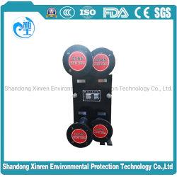 Mx25 Acid-Resistant Steel RS-2 de refrigeração do permutador térmico do tubo duplo de fibra de fosfatização de ebulição