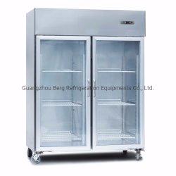 ガラス飾り戸棚の商業台所装置のステンレス鋼のワイン冷却装置