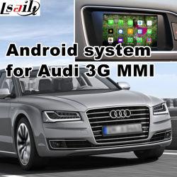 De androïde GPS Doos van het Systeem van de Navigatie voor A8 3G Mmi Audi VideoInterface