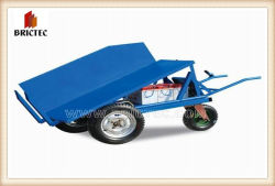 La brique chariots de livraison pour l'usine de fabrication de briques en argile
