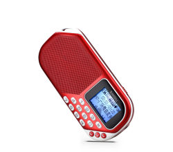 Shidu S228 MP3-Player-Zahl-Auflage TF-Karten-Minilautsprecher