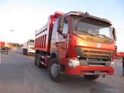 Sinotruk HOWO A7 6X4 371CV 30 toneladas de capacidad volquete