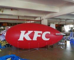 Для использования вне помещений, летевший в рекламе Kfc Zeppelin Airship надувных шаров гелия