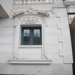 Adouci naturelles grès blanc, mosaïque de pavage de grès, de grès pour le projet