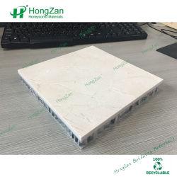 Crema Marfil Marble Aluminium Honeycomb-paneel