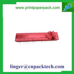 A medida de gran calidad de pluma slim Box Collar Arete Caja de regalo