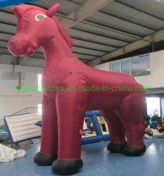 Publicité de plein air Animal gonflable Mustang cheval gonflable