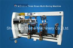 Automatique des têtes CNC multi trois rangées/quatre rangées/six rangées ennuyeux et machine de forage