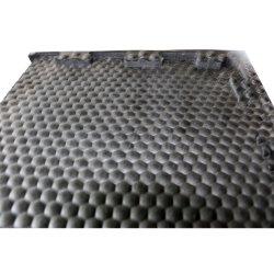 Kuh-Matten-Stall-Gummimattenstoff-Nylon eingeschobene mit Rippen versehene Hammer-Kuh-Gummifußboden-Rolle