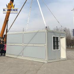 Residencial 야영지를 위한 Prefabricated 쉬운 겹 콘테이너 집