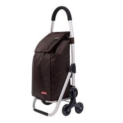 Carrelli di acquisto dei nuovi prodotti con il carrello di acquisto della presidenza per gli anziani