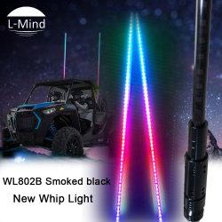 2019 passen das neue DIY Firmenzeichen der Größen-12V 24V LED Zubehör Peitsche-Licht-Markierungsfahnen-der Licht-ATV an