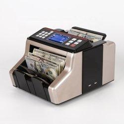 2830t LCD Teller Van uitstekende kwaliteit 1 van het Bankbiljet 2830t van het Bankbiljet van de Machine van het Contante geld van de Rekening van de Waarde van de Benaming van de Mengeling van het Geld van de Vertoning Tegen Tegen Tellende Tegen. Bank