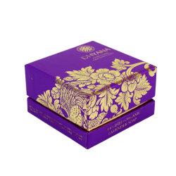 Contenitore impaccante di carta di regalo di lusso su ordine dei monili