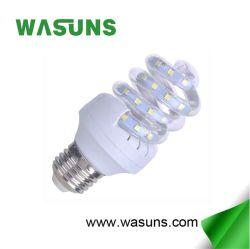 Полный спиральный светодиод 9 Вт E27 кукурузы с лампы CFL форму