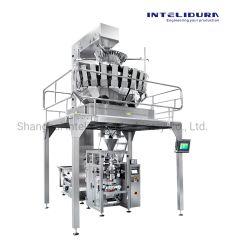 Kontinuierliche Bewegungs-Hochgeschwindigkeitsverpackungsmaschine mit Multihead Wäger für Sonnenblumensamen
