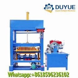 Qt4-30 벽돌 절단기 구렁 구획 기계 수동 간단한 유압 빈 구획 기계 말라위 콘크리트 블록 기계