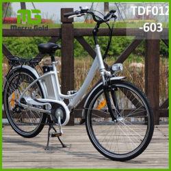 Conforto elegante Senhoras Ebike barato Electric City Bike