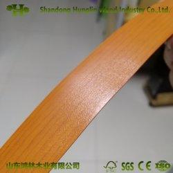 PVC della fascia di bordo di colore solido o del grano di legno per mobilia