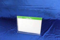 Freien Tischplattenacrylbildschirmanzeige-Blättchen-Standplatz anpassen