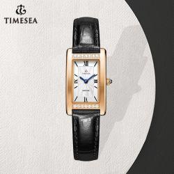 Корпус из нержавеющей стали марки смотреть леди квадратные часы Diamond смотреть 71134
