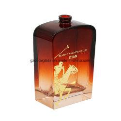 100 мл полированного стекла бутылок для духов с покрытием и печать