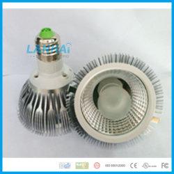 Алюминиевые початков PAR30 лампы наружного кольца подшипника 10Вт E27 Светодиодный прожектор
