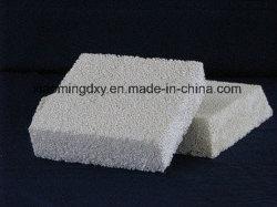 Filtro di ceramica dalla gomma piuma dell'allumina per il pezzo fuso di alluminio di precisione