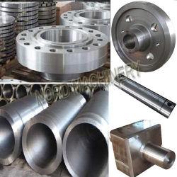 Peças de aço forjado Abrir Die esboço de forjagem de estampagem de peças para a engrenagem, eixo, tubo, Peças de forjamento de Anel