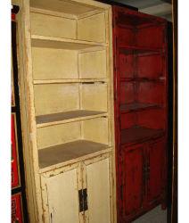 Старинная китайская размножения деревянные книжном шкафу (LWA310)