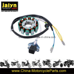 Pieza de recambio MOTO MOTOCICLETA estator de Gg-125 12 bobinas