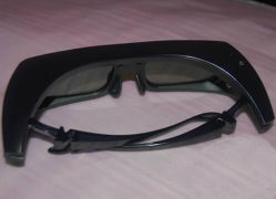Hot lunettes 3D Active Shutter pour PC avec batterie remplaçable