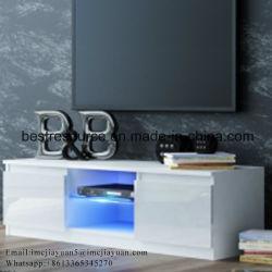 Suporte para televisor moderno em madeira para mesa Sala Escura