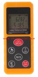 Mini Digital Medidor de distancia láser Electronic Telémetro láser portátil Detector distancia